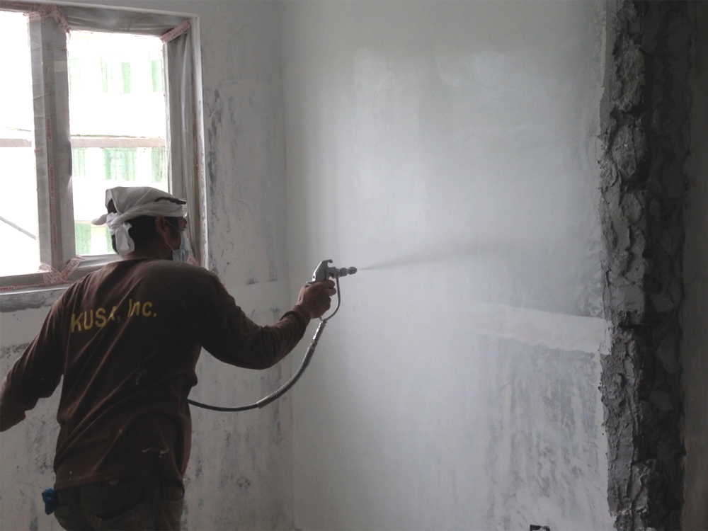 Jobsite Wall Painting