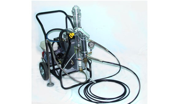 CY-1150 5.5HP Gas-Powered Airless Sprayer